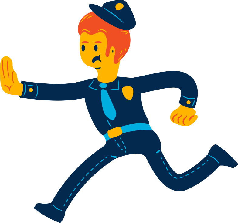 style man policeman Vector images in PNG and SVG | Icons8 Illustrations