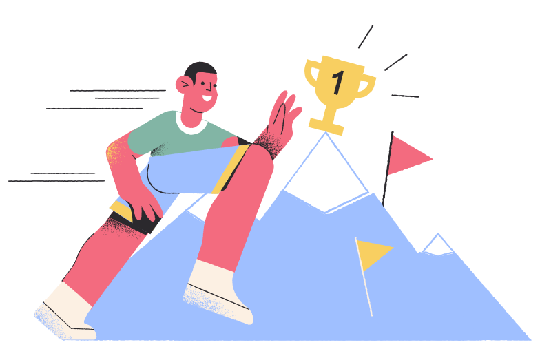 Victory Clipart illustration in PNG, SVG
