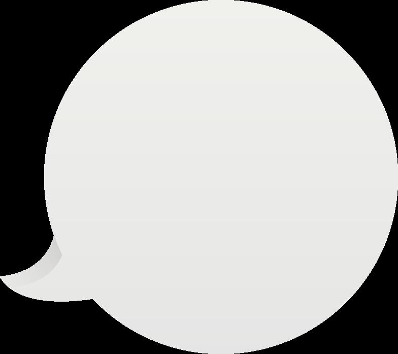 Ilustración de clipart de speech-bubble en PNG, SVG