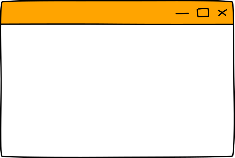 empty browser window Clipart illustration in PNG, SVG