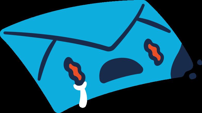 burned envelope Clipart illustration in PNG, SVG