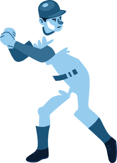 style baseball player images in PNG and SVG   Icons8 Illustrations
