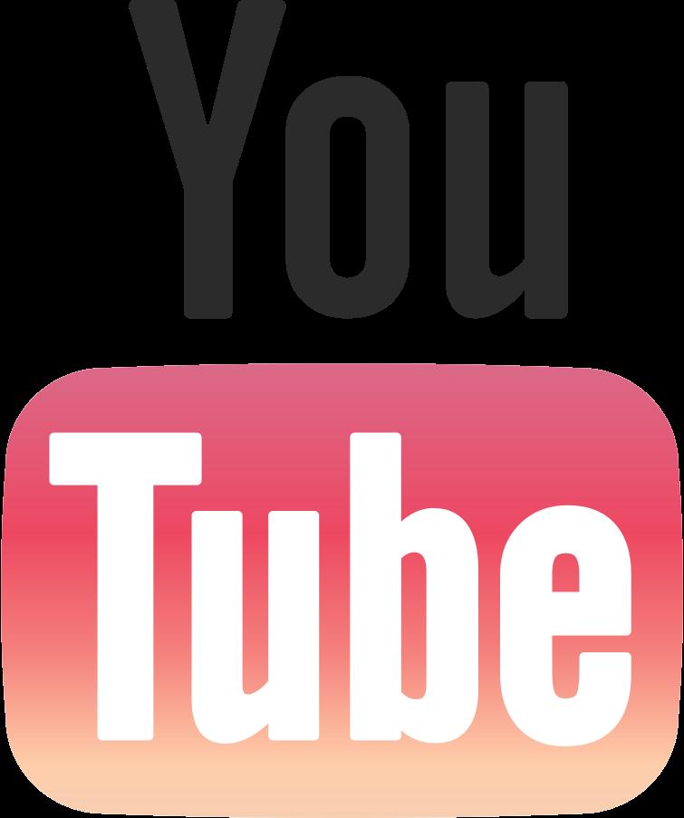 youtube logo Clipart illustration in PNG, SVG