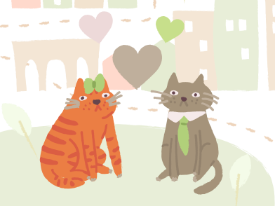 style Cats wedding images in PNG and SVG | Icons8 Illustrations
