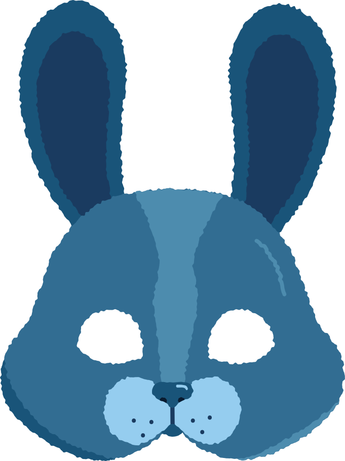 style mask rabbit Vector images in PNG and SVG   Icons8 Illustrations