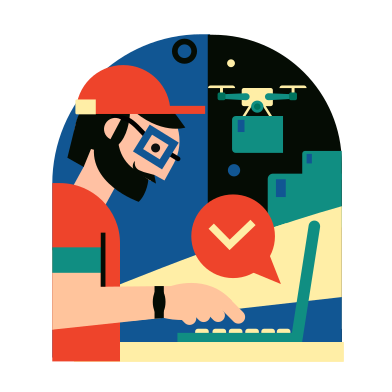 style Order delivered images in PNG and SVG | Icons8 Illustrations