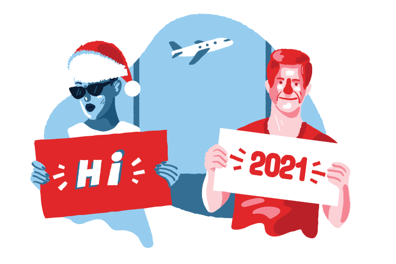 style Welcome to the new year Vector images in PNG and SVG | Icons8 Illustrations