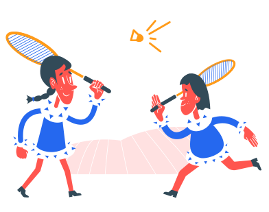style badminton images in PNG and SVG | Icons8 Illustrations