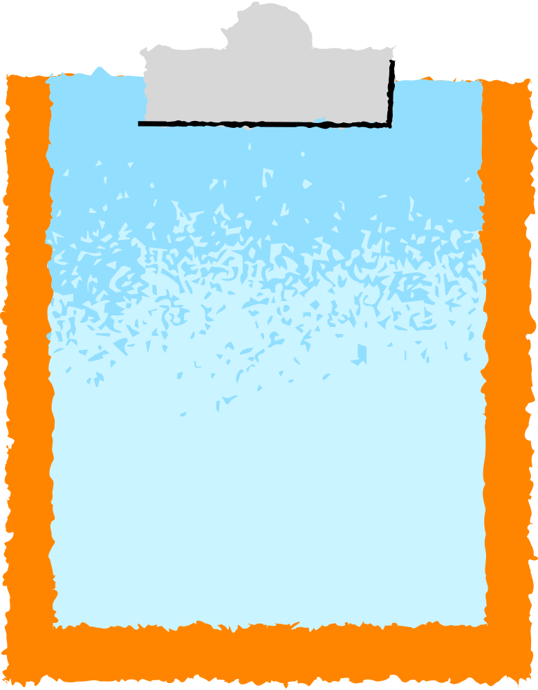 clipboard Clipart illustration in PNG, SVG