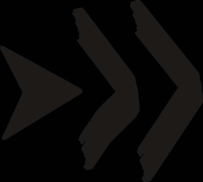 black arrow big Clipart illustration in PNG, SVG