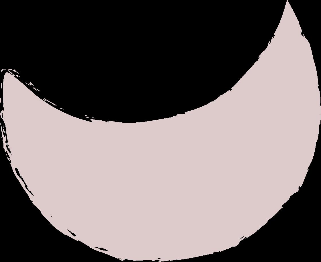 crescent-dark-pink Clipart illustration in PNG, SVG