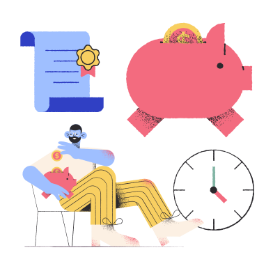 style Time is money images in PNG and SVG | Icons8 Illustrations