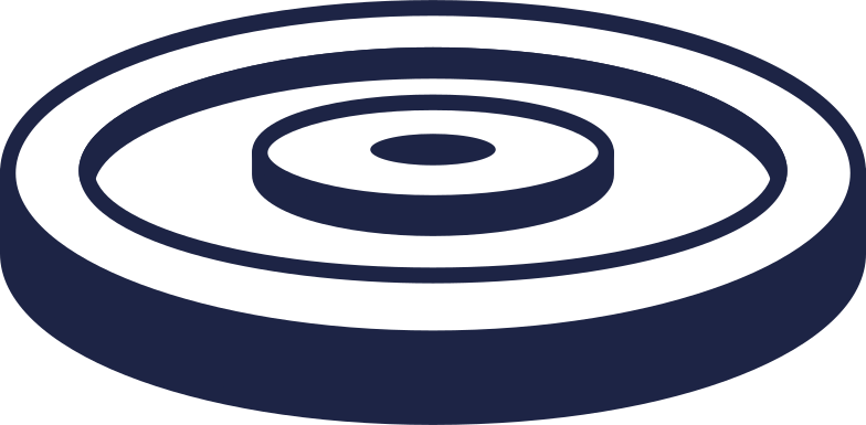 disc for barbell 2 line Clipart illustration in PNG, SVG