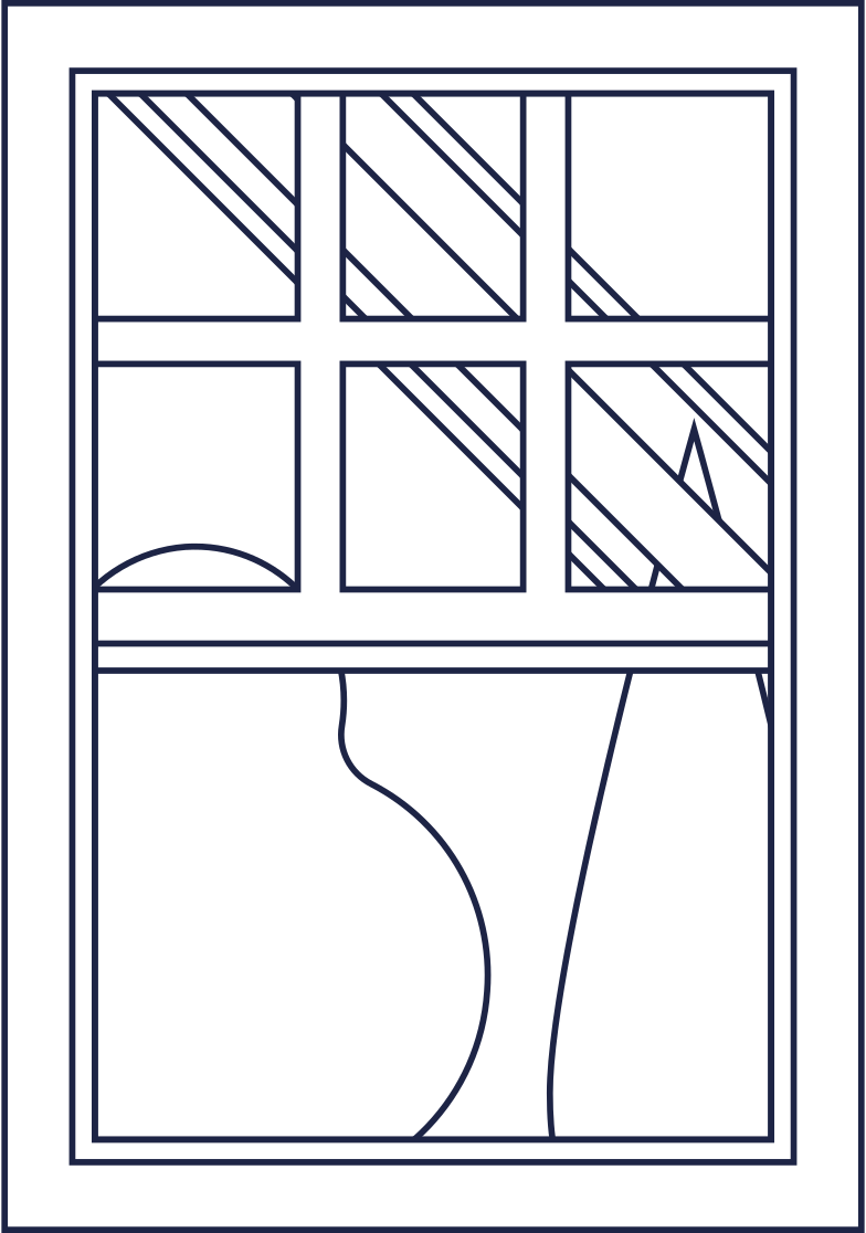 education  window room line Clipart illustration in PNG, SVG