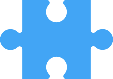 style puzzle piese blue images in PNG and SVG | Icons8 Illustrations
