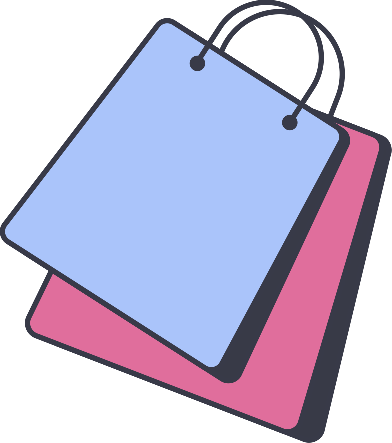 style shopping bag Vector images in PNG and SVG | Icons8 Illustrations