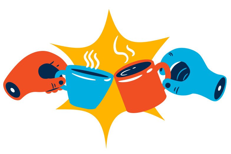 Tea party Clipart illustration in PNG, SVG