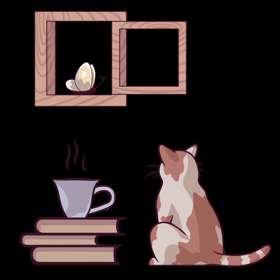 Observing Clipart illustration in PNG, SVG