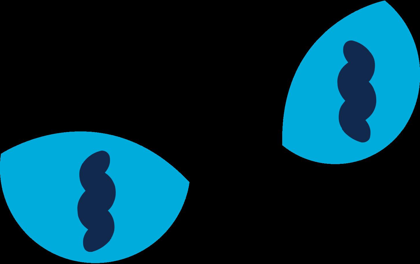 cat eyes Clipart illustration in PNG, SVG