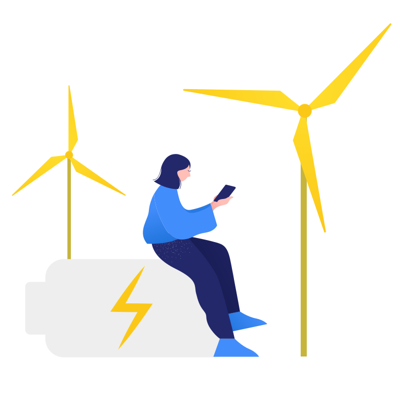 style Wind turbines Vector images in PNG and SVG | Icons8 Illustrations