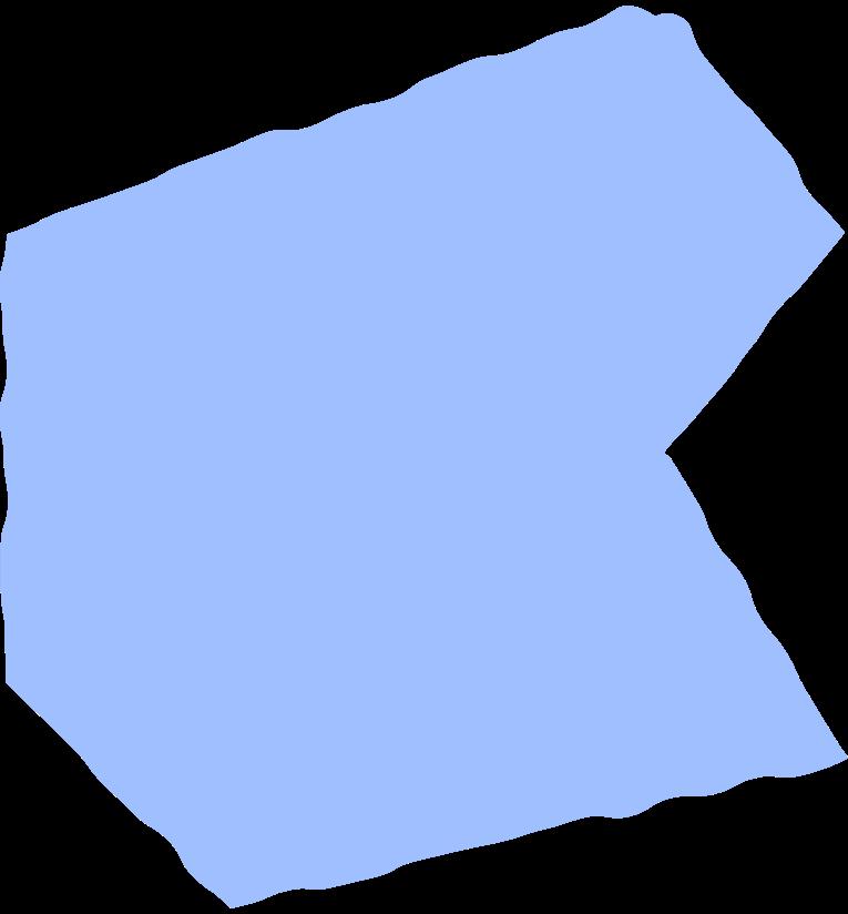 polygon light blue Clipart illustration in PNG, SVG