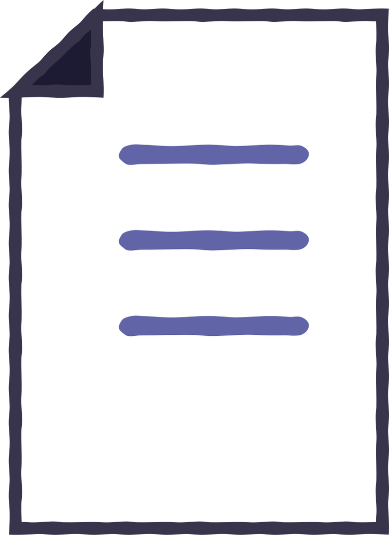 page Clipart illustration in PNG, SVG