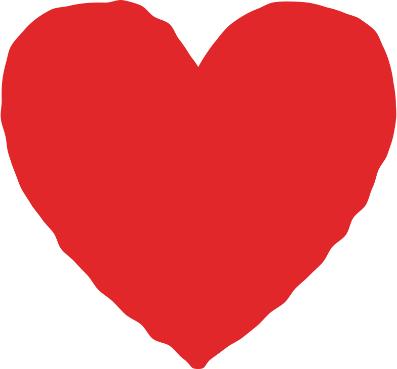heart red Clipart illustration in PNG, SVG