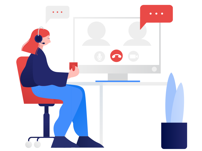 style Online meeting Vector images in PNG and SVG | Icons8 Illustrations