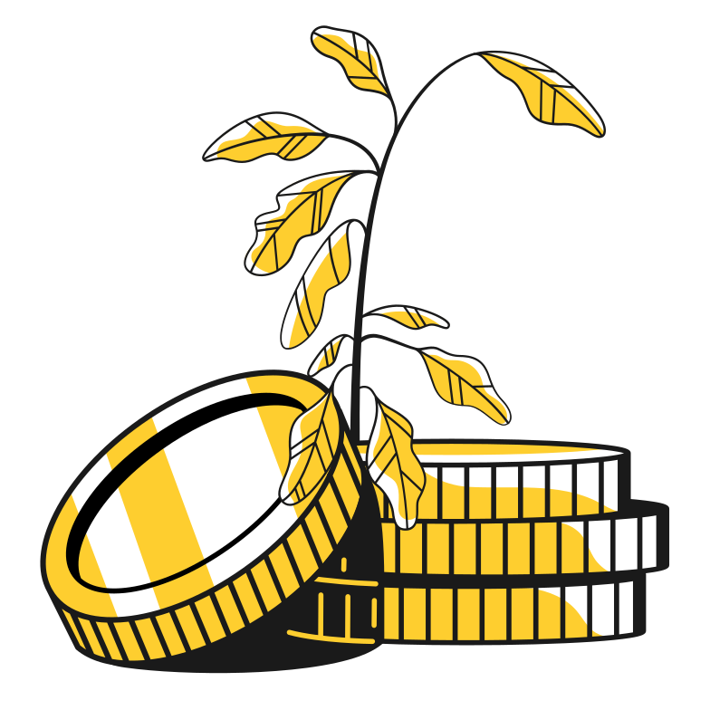 Can't grow Clipart illustration in PNG, SVG