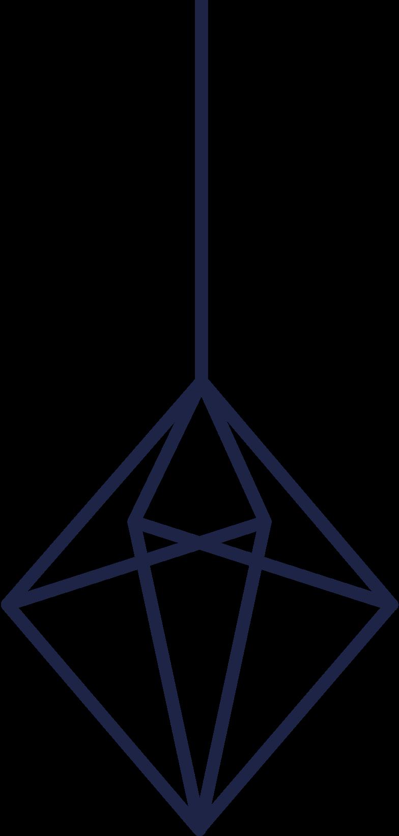 Ilustración de clipart de Decoración del árbol de año nuevo en PNG, SVG