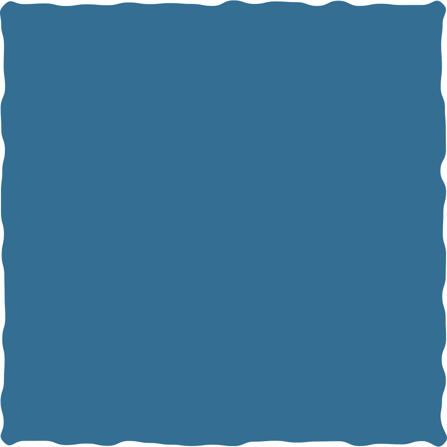 square blue Clipart illustration in PNG, SVG