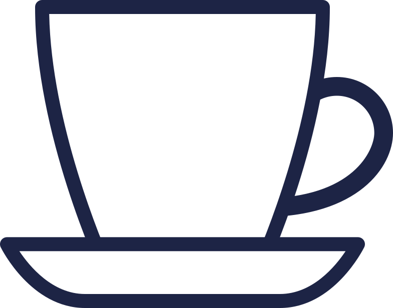 education  cup of tea line Clipart illustration in PNG, SVG