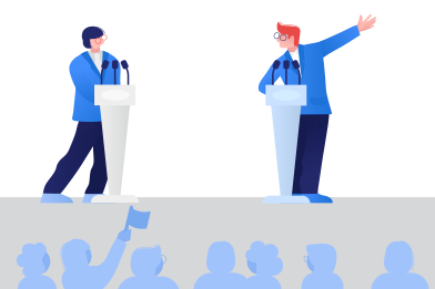 style Political debates images in PNG and SVG   Icons8 Illustrations