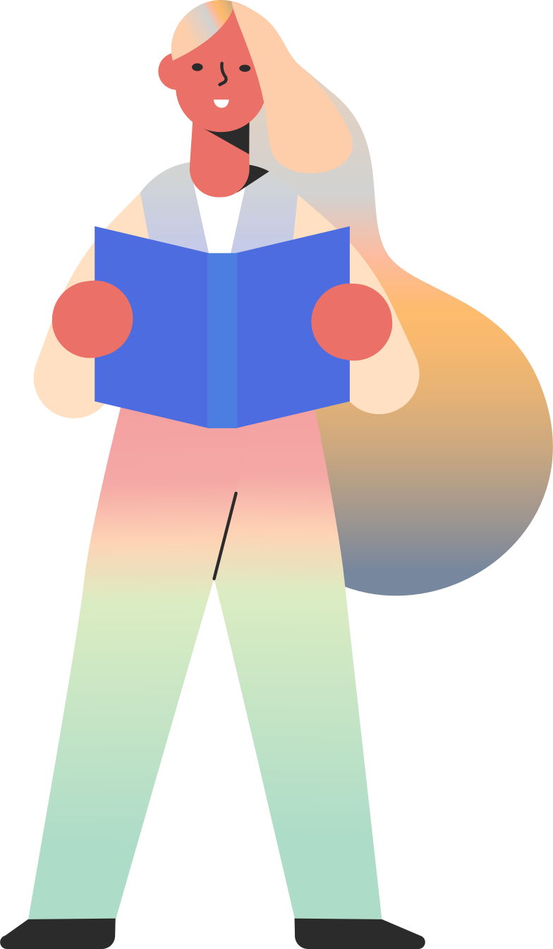 style girl reading skin tone Vector images in PNG and SVG | Icons8 Illustrations