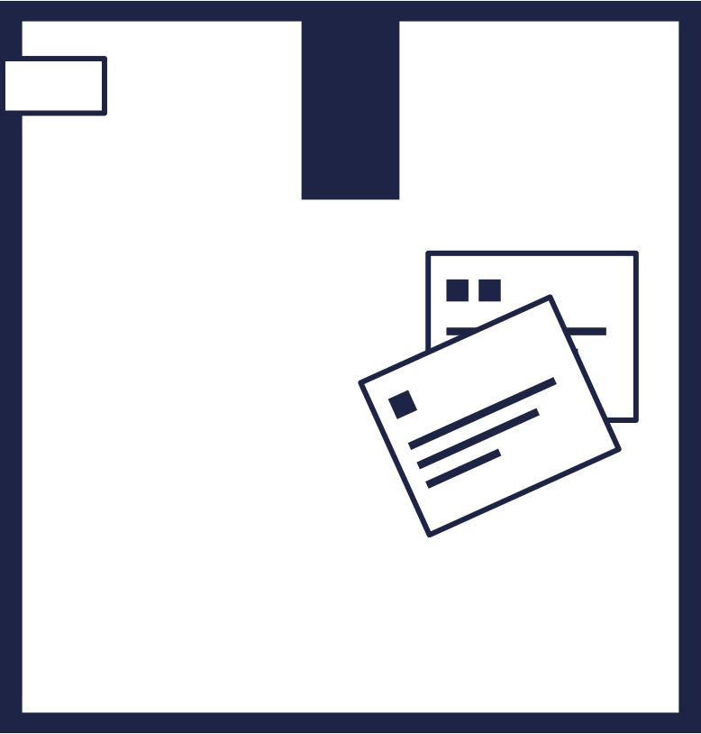 box 3 line Clipart illustration in PNG, SVG
