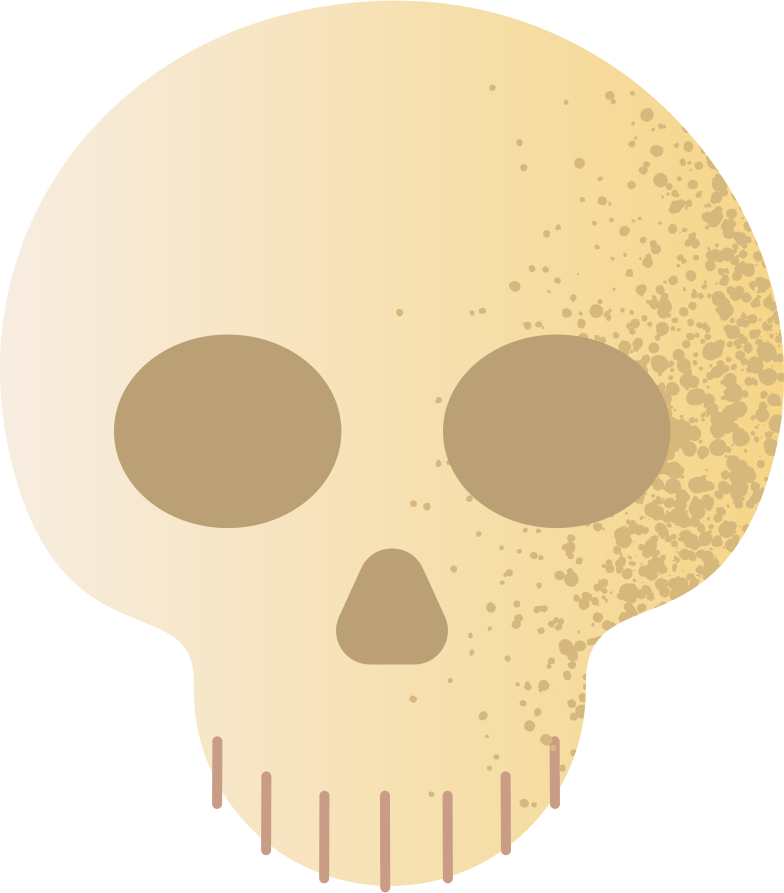 scull Clipart illustration in PNG, SVG