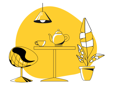 style Cafe interior images in PNG and SVG | Icons8 Illustrations
