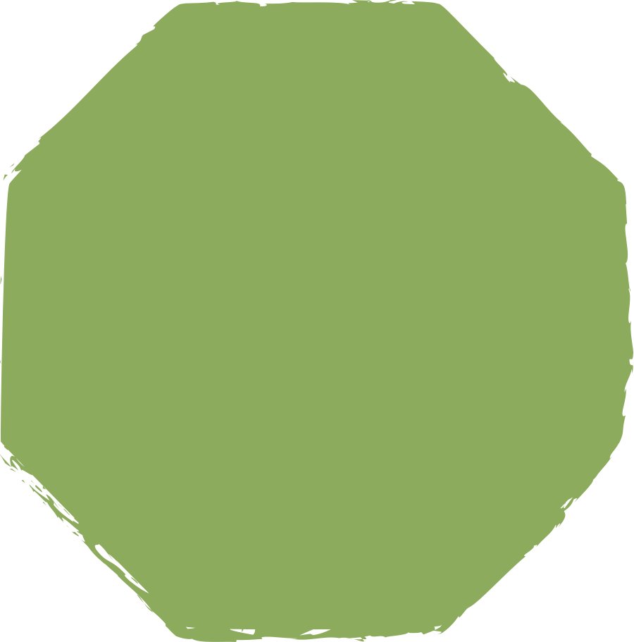 octagon-dark-green Clipart illustration in PNG, SVG