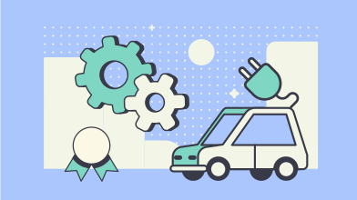 style Electric car service  images in PNG and SVG | Icons8 Illustrations