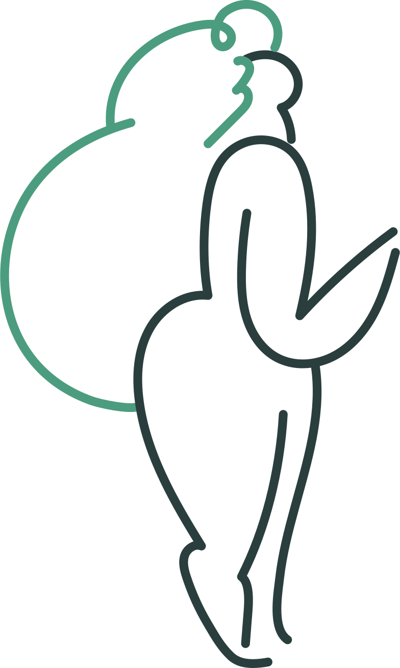 delivery  girl Clipart illustration in PNG, SVG