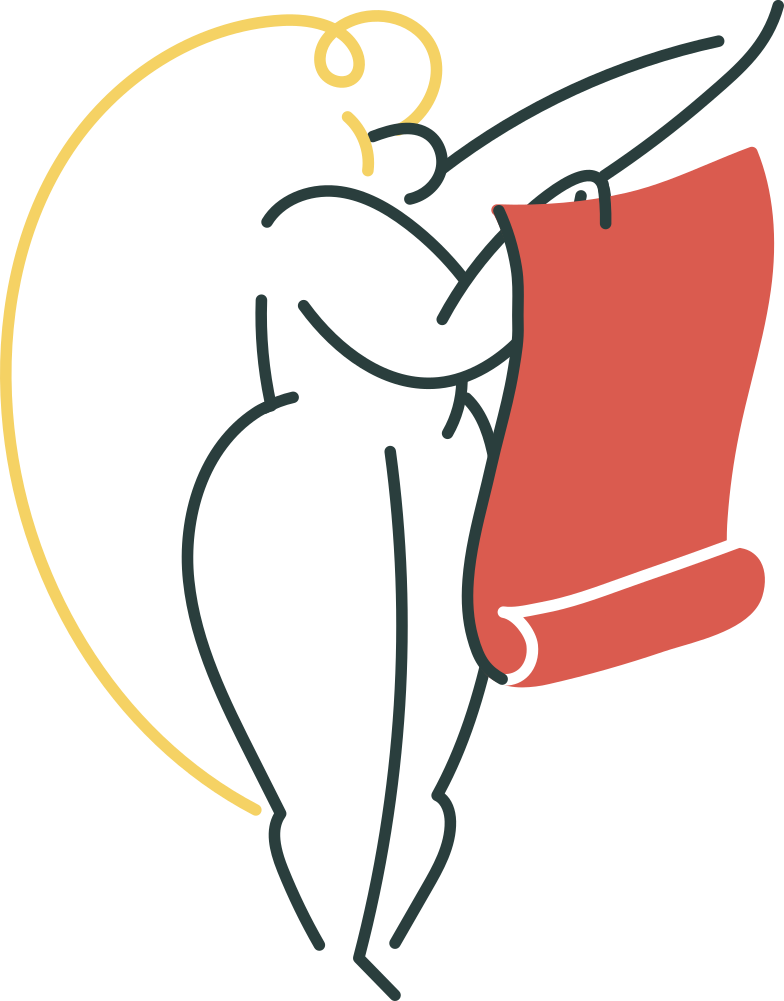 list is empty magic  girl Clipart illustration in PNG, SVG
