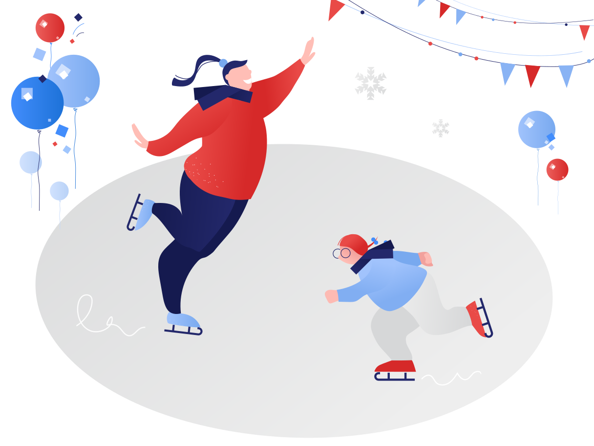 style Skate on ice Vector images in PNG and SVG | Icons8 Illustrations