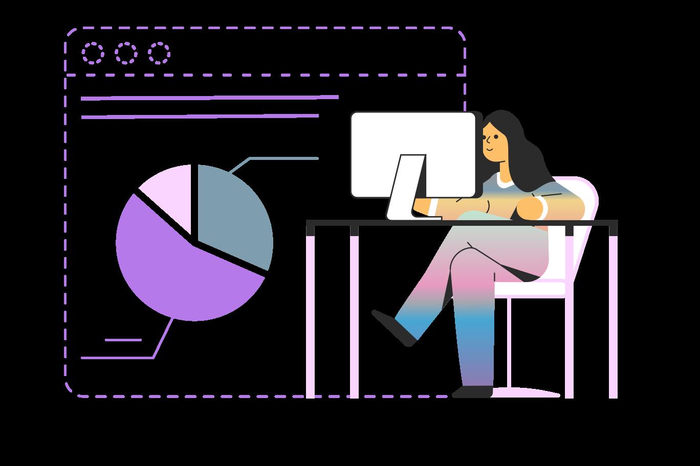 PNGとSVGの  スタイルの 財務報告 ベクターイメージ | Icons8 イラスト
