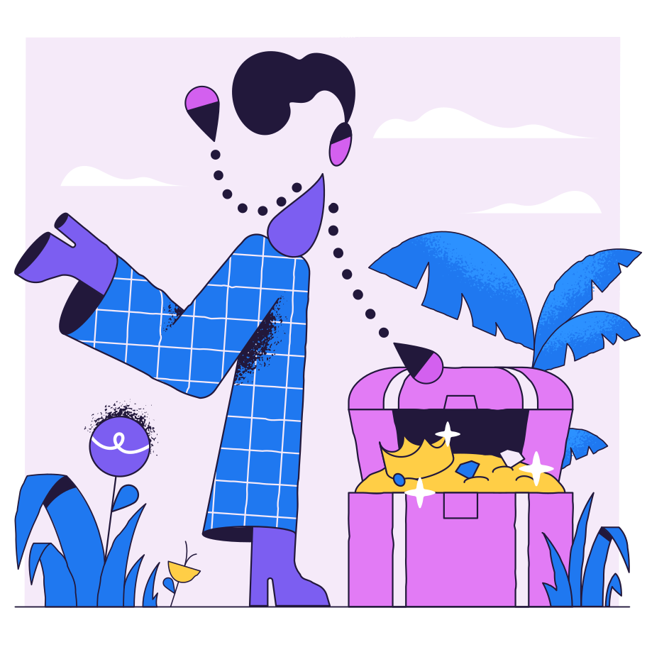 Hit the jackpot Clipart illustration in PNG, SVG
