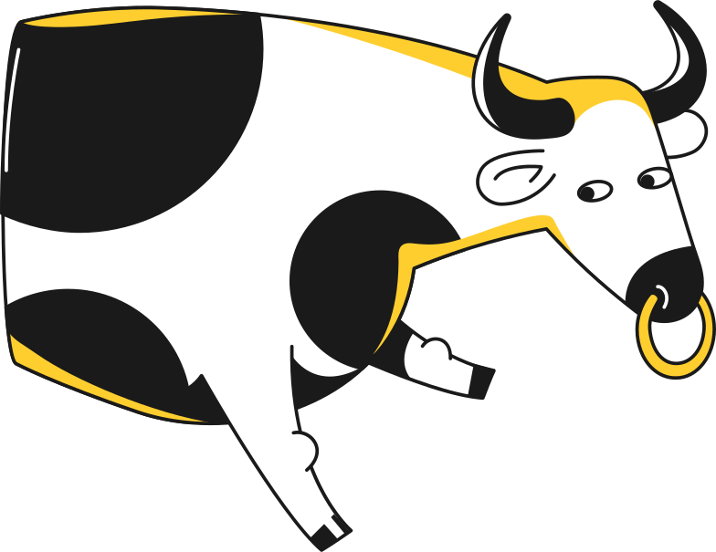 rat bull  bull Clipart illustration in PNG, SVG