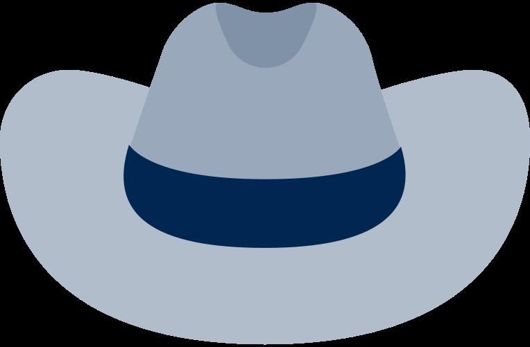 cowboy hat Clipart illustration in PNG, SVG
