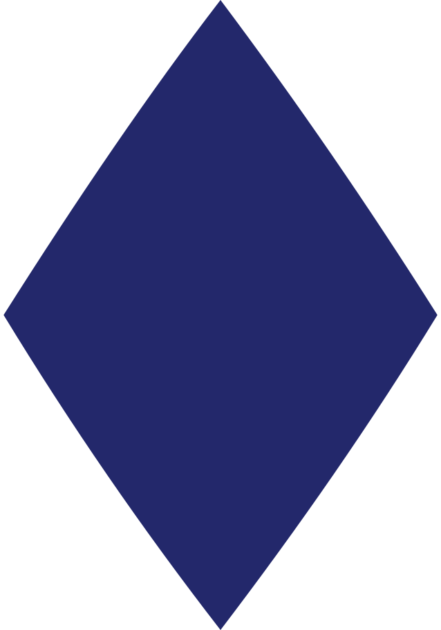 rhombus dark blue Clipart illustration in PNG, SVG