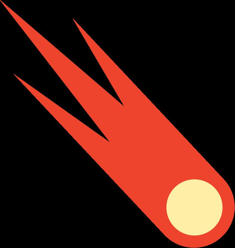 comet Clipart illustration in PNG, SVG
