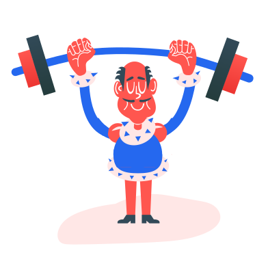 style heavy athletics images in PNG and SVG | Icons8 Illustrations