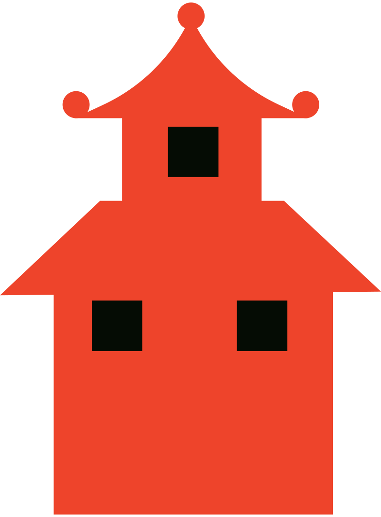 chinese house Clipart illustration in PNG, SVG